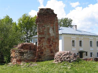 Руины Десятинного собора