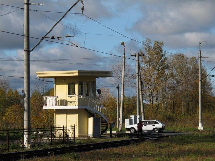 Типова будка железнодорожного смотрителя