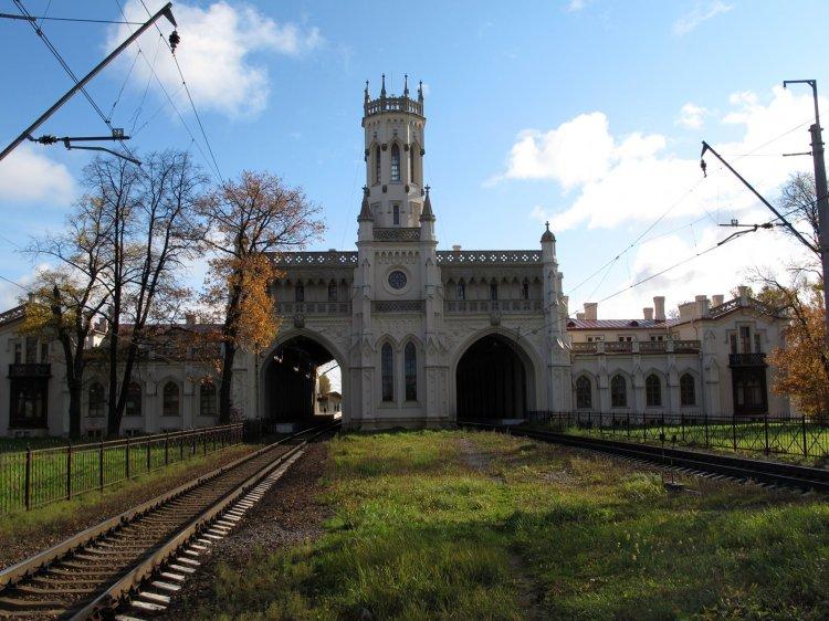 Западный вид вокзала