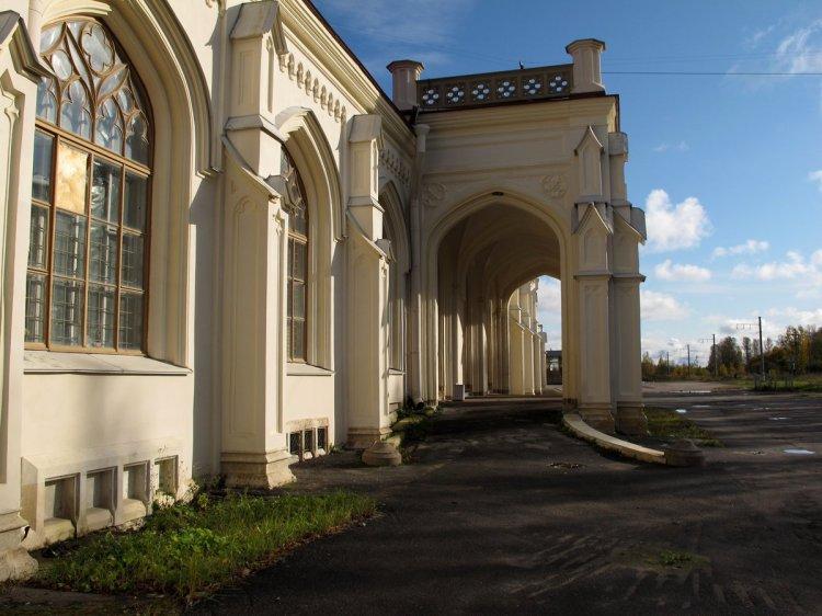Подъезд к вокзалу