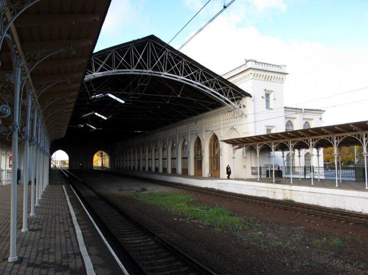 Крытая часть вокзала
