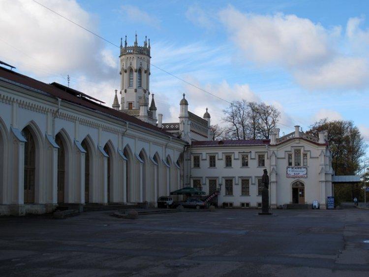Северная сторона вокзала