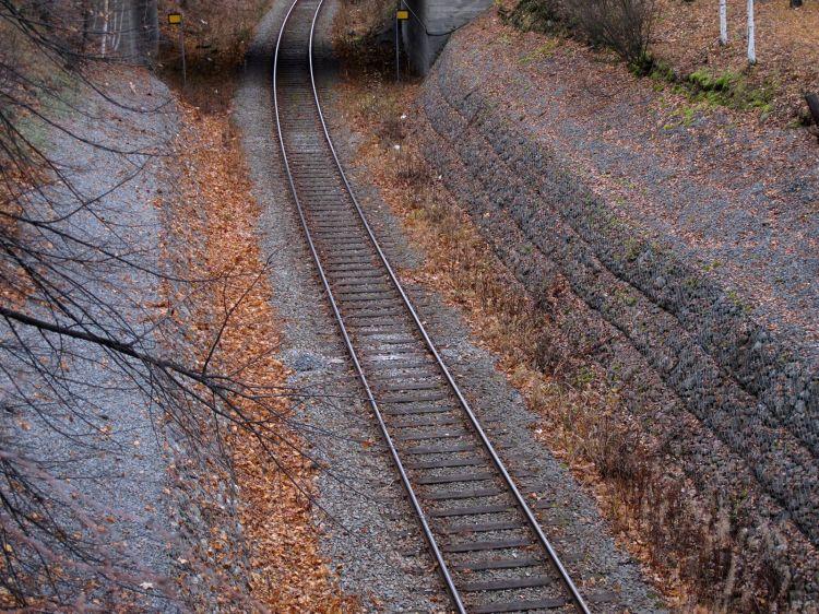 Осенняя железная дорога