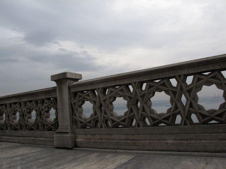 Парапет над Босфором