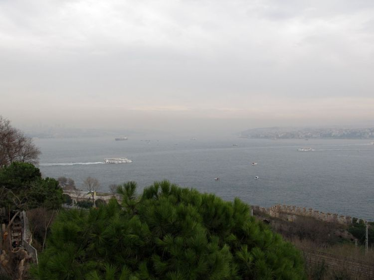 Босфор и корабли