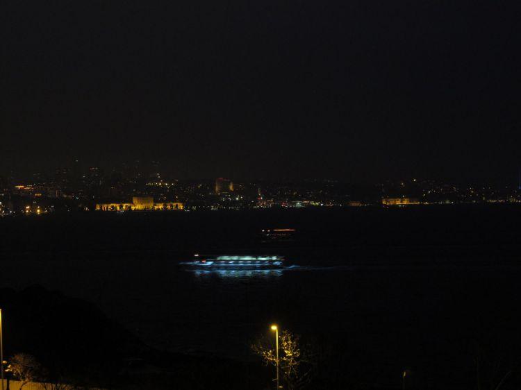 Вид на Босфор из парка
