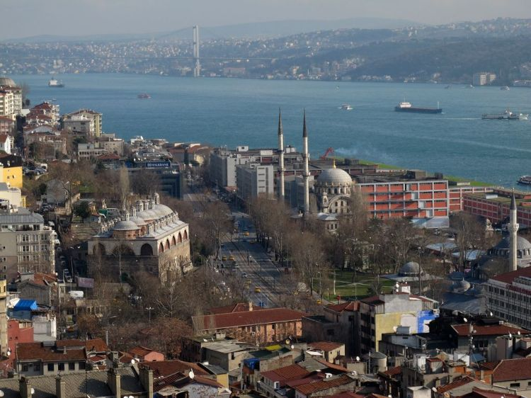 Вид на Босфор с Галатской башни