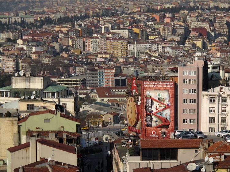 Жилые кварталы Стамбула