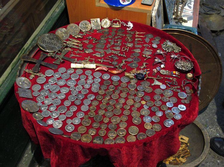 Антиквариат и монетки