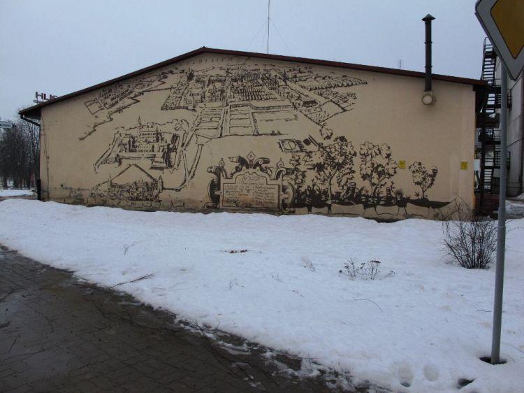 Роспись на стенах Несвижа