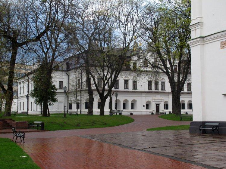 Парк возле собора Святой Софии