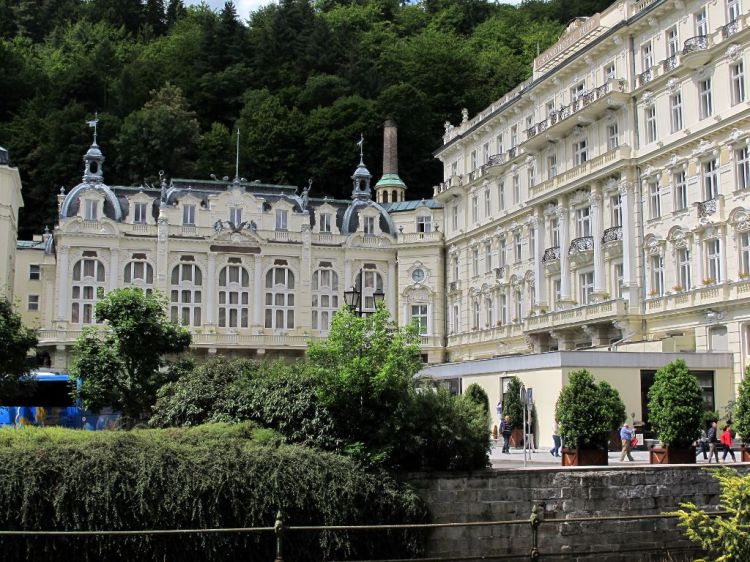 Пафосный отель в Карловых Варах
