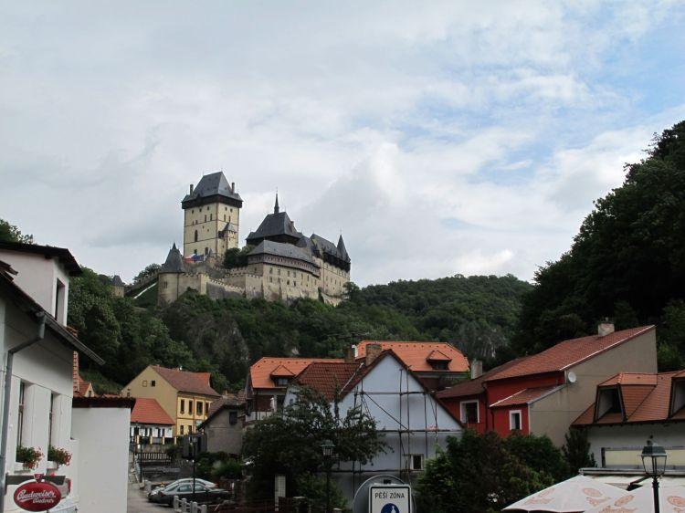 Замок над городом