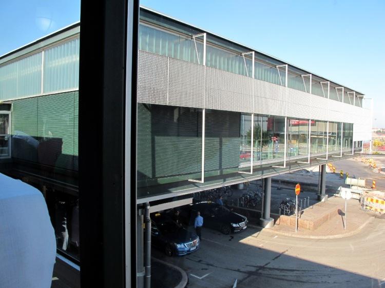 Пассажирский терминал в Хельсинки