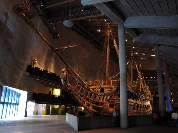 Корабль в музее