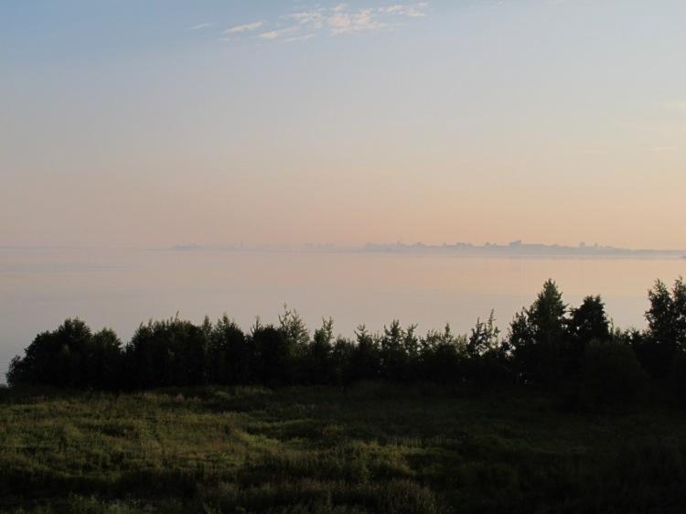 Туман на подходах к Питеру