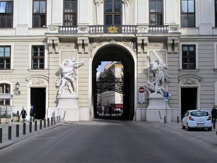 Ворота Хофбурга