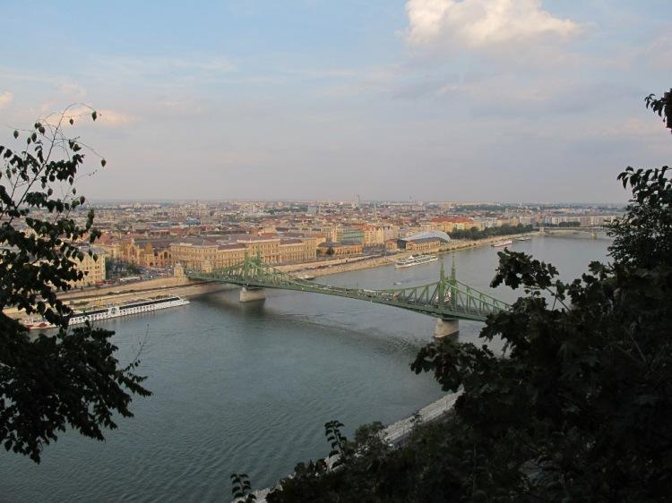 Вид на Дунай и Пешт 1
