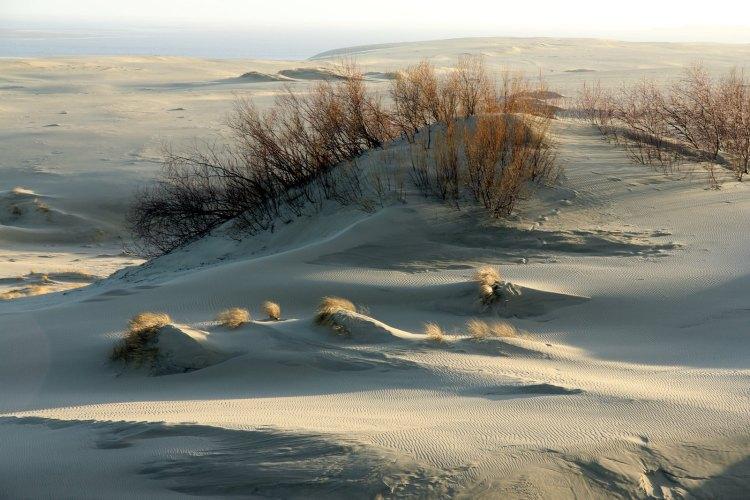 Еще больше песка
