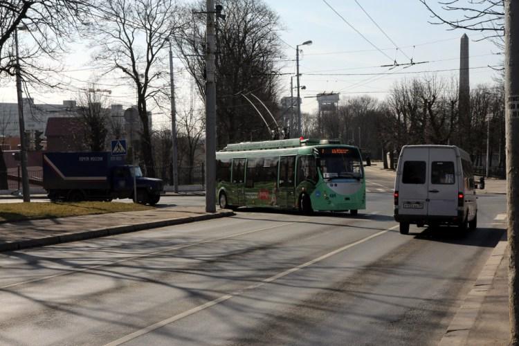 Прикольный троллейбус