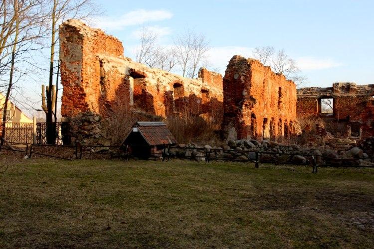 Развалины Инстербурга