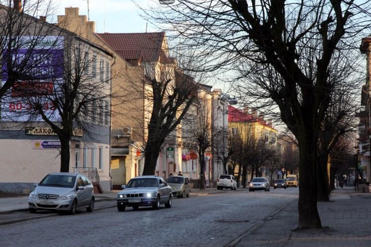 Улицы Черняховска