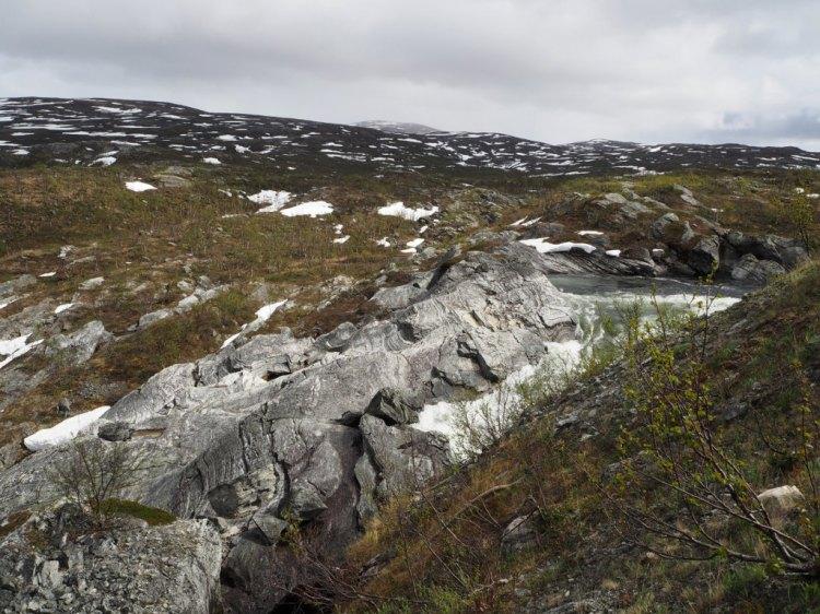 Первая горная речка