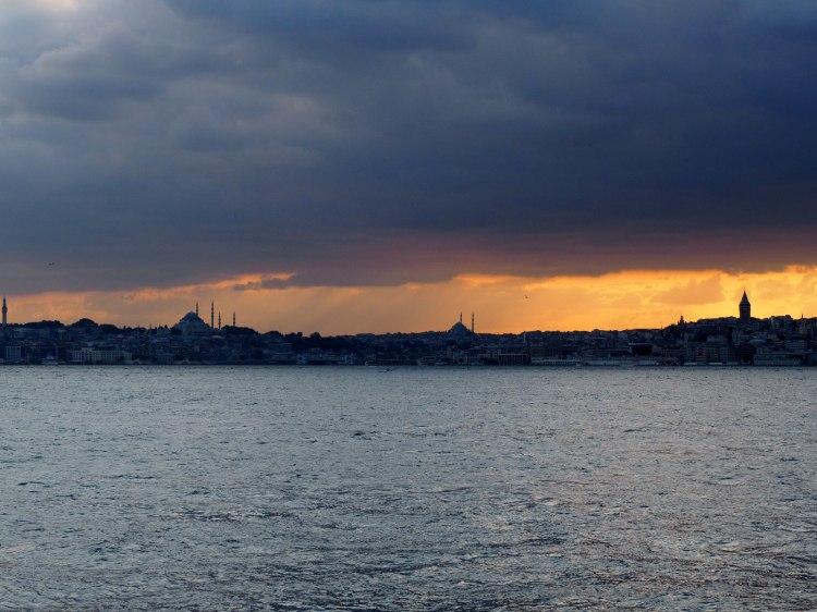 Закат на Босфоре
