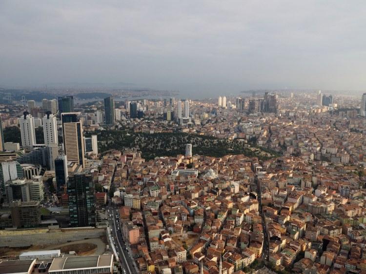 Вид на Стамбул и Мраморное море