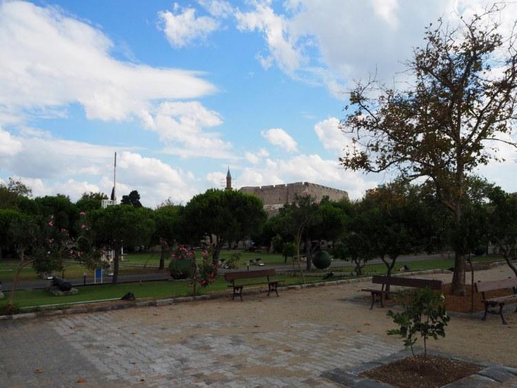 Парк и крепость в Чанаккале