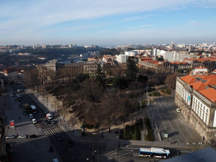Вид на город с собора